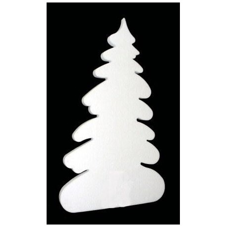 Christmas tree in cotton wool