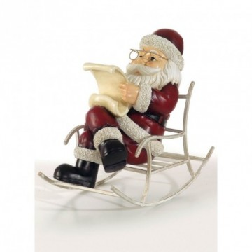 Santa in rocking chair