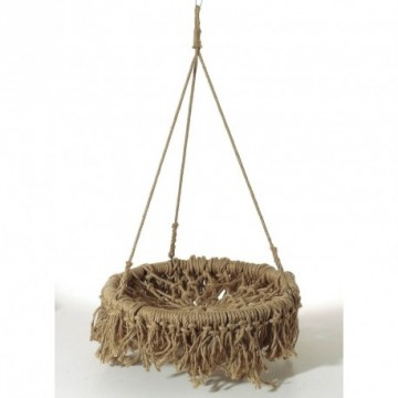 Hanging shelf macramé
