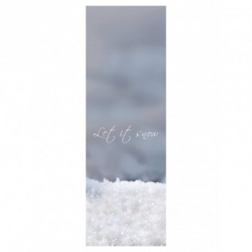 "Imprimé motif ""let it snow"""