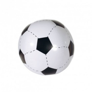 Ballon de foot gonflable