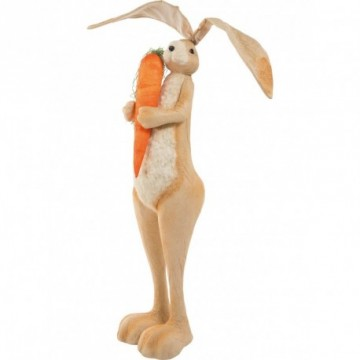 Giant rabbit with carrot